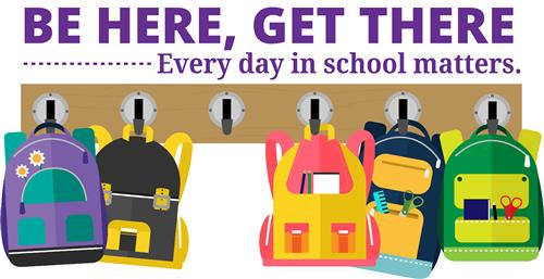 Be Here, Get There – Every day in school matters.