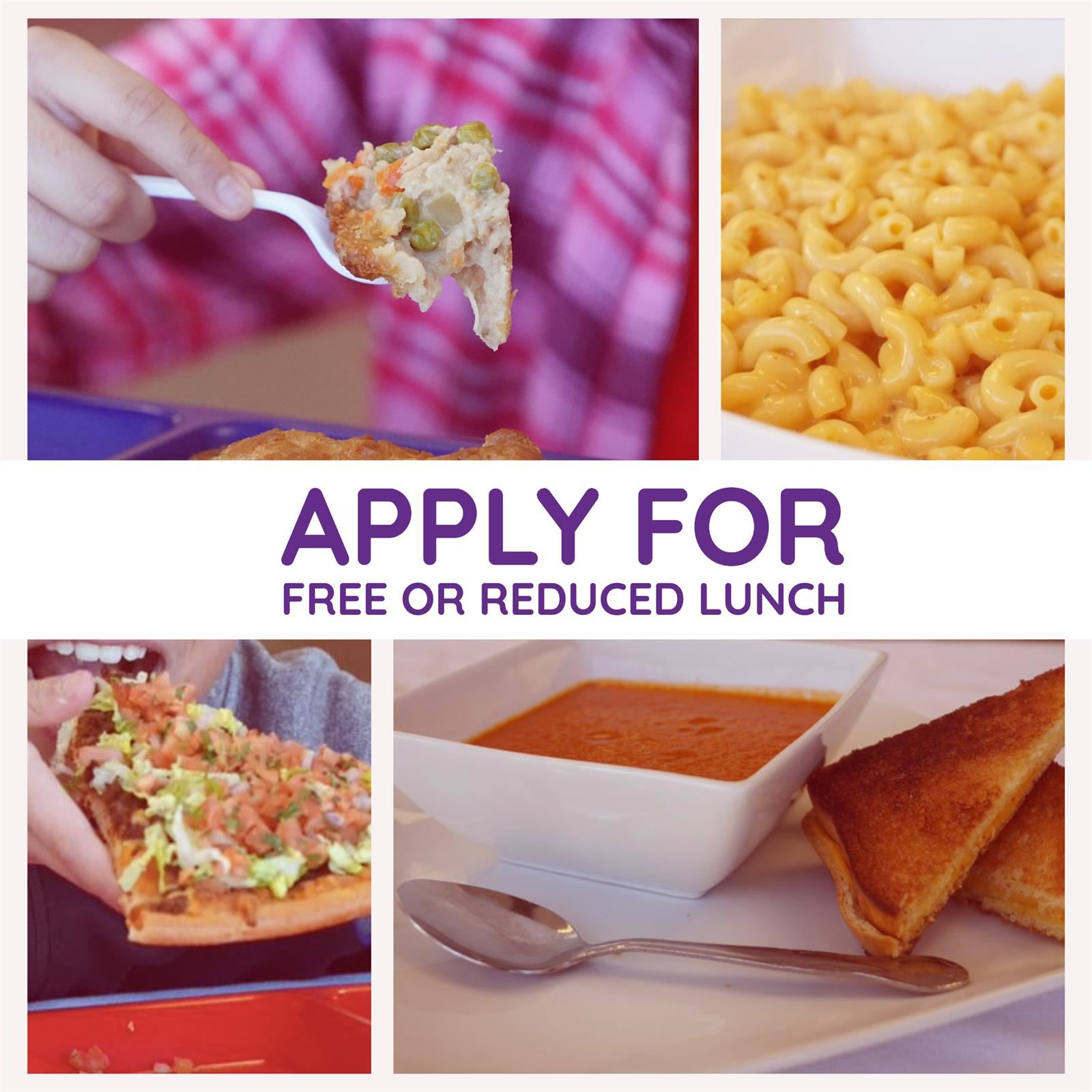 Apply for free/reduced meals today!